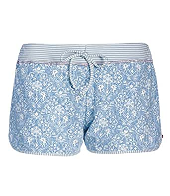 pip studio damen pyjama hose kurz bella little lacy 260406 farbe blau w schegr e xl artikel. Black Bedroom Furniture Sets. Home Design Ideas