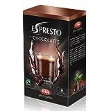 K-Fee Espresto Chocolatte, Trinkschokolade Fairtrade, Kakao, 16 Kapseln