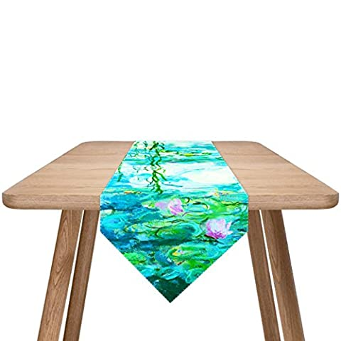 Modern simple, cotton and linen table runner/ coffee table table runner/outdoor tables table runner-I