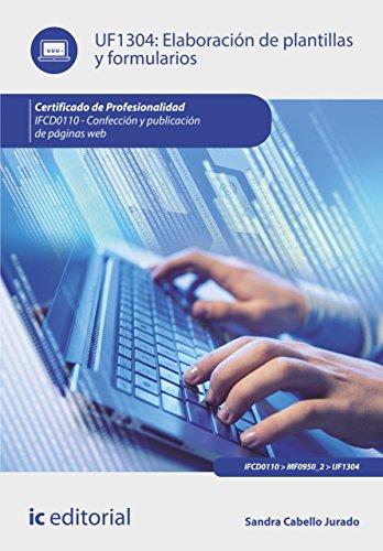 Elaboración de plantillas y formularios. IFCD0110 por Sandra Cabello Jurado