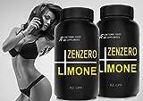 ZENZERO+LIMONE+POMPELMO A.I.F. - 120cpr (per 2 mesi di trattamento) Bruciagrassi TRIPLA AZIONE con estratti di Semi di Pompelmo! Azione Dimagrante, snellente, antiossidante,Detox immagine
