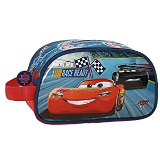 Disney Race Neceser de Viaje, 24 cm, 3.36 litros, Multicolor