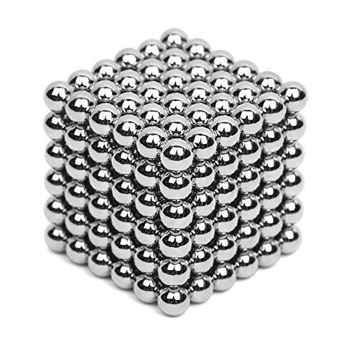 tableware_gogo Blocs de Construction Magnétique 3D Jouet de Puzzle Jeux de Construction avec Bâtons Magnétique Colorés pour Les Filles et Garçons de Plus de (1000 Pièces 3 mm)