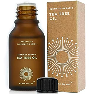 Australian Tea Tree Essential Oil, Organic, Pure, Therapeutic Grade 15ml - by Earth To You