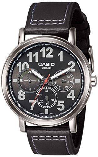 Casio Reloj con Movimiento Cuarzo japonés Man Mtp-E309L-1A 45.0 mm
