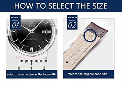 lona resistente importación reloj deportivo de reemplazo de correa de banda de alta gama de lujo de estilo de color caqui 18-26mm la NATO para los hombres