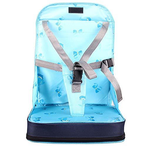 StillCool Seggiolino per Sedia pieghevole portatile Per Bambini rialzo da sedia per bambini e neonati viaggio con spugna di alta qualità e quattro