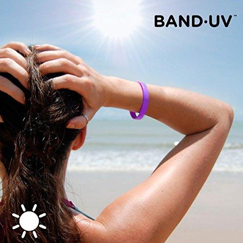 Band·UV Armband mit UVA-Strahlenanzeige