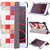 BQ AQUARIS M8 Funda,VOVIPO Ultra Slim Cover Lightweight Stand PU Leather Tri-fold Case For BQ AQUARIS M8