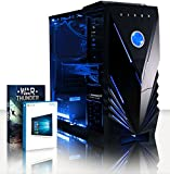 VIBOX Gaming PC - Rainmaker 33 - 4.5GHz Intel i7 Quad Core CPU, Geforce GTX 1060, VR Ready, Water Cooled, Desktop Computer with Game Bundle, Windows 10 OS, Blue Internal Lighting and Lifetime Warranty* (Super Fast Intel i7 7700K Kabylake 4-Core CPU Processor, Nvidia GeForce GTX 1060 3GB Graphics Card, 16GB Team 2133MHz DDR4áRAM, 240GB Solid State Drive SSD, 3TB Hard Drive, Thermaltake Performer C Liquid Cooler, 600W 85+ PSU, Vibox Blue Case, Z270 Motherboard)