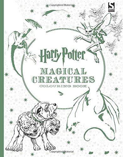Harry Potter Magical Creatures Colouring Book 2 by Warner Brothers (2016-01-28)