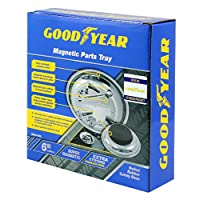 """NEW GOODYEAR Magnetic 6"""" 150mm Mechanics Electricians Car Parts Nuts Bolts Tray"""