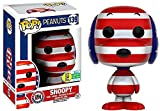 Funko - POP Anime - Peanuts - Rock The Vote Snoopy Red, White & Blue SDCC 2016 Exclusive #139