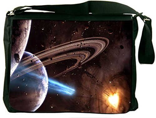 Snoogg Galaxy Heart Padded Compartment Carrying Case Sleeve Laptop Notebook Shoulder Messenger Bag For All 15 - 15.6