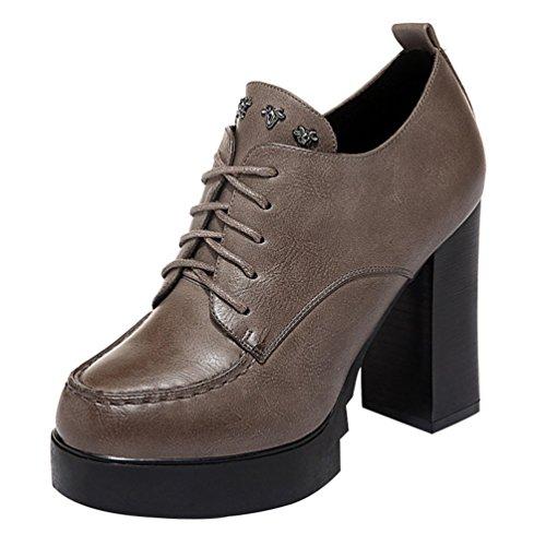 fq-real-womens-new-style-lace-up-block-heel-waterproof-platform-pumps-5-ukbrown