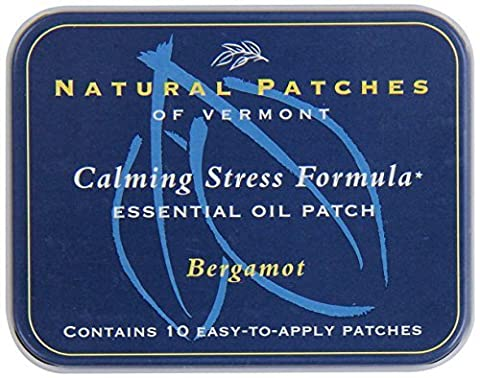 Naturopatch Of Vermont Bergamot All Natural Stress Relief Aromatherapy Essential Oil Body Patches, 10-Count Tin by Naturopatch Of Vermont
