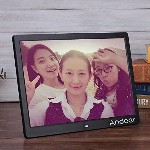 Epyz HD Ready Digital Photo Frame With Fully Functional Remote