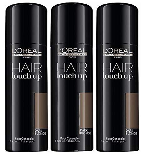 L'Oréal Professionnel Hair Touch Up Light Brown Set 3 x 75ml - Brown 3'3