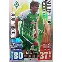 Topps Match Attax Bundesliga 2016//2017 452 Claudio Pizarro Werder Bremen Hattrick-Held