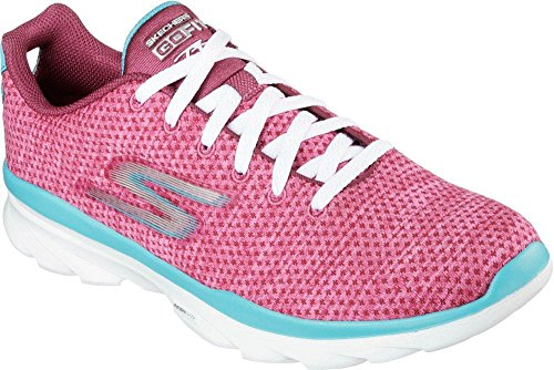 Skechers Baskets mode pour femme Rouge Rouge Rouge - rouge