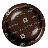 Nespresso Lungo Origin Guatemala PRO COFFEE 50 Capsules ,New. For Gemini , Zenius , Aguila Coffee Machines