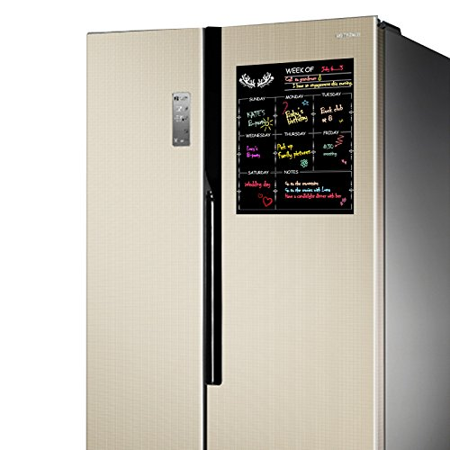 Nouvelife lavagna magnetica per la cucina 30 x 40 cm lavagna magnetica per frigo settimanale - Lavagna magnetica per cucina ...