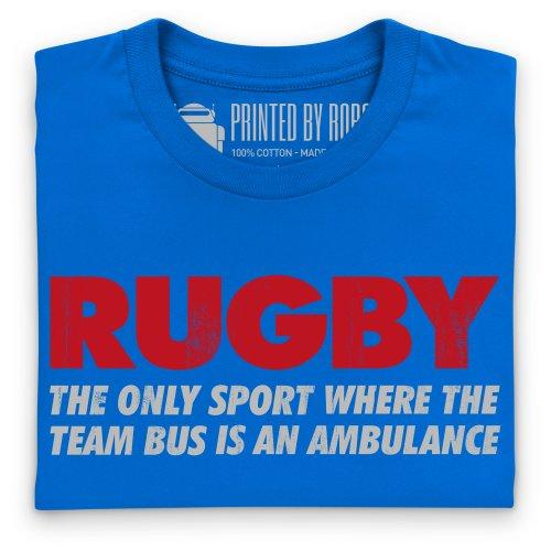 Ambulance T-Shirt, Herren Royalblau