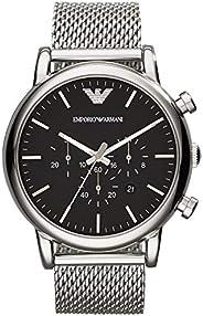 ساعة كرونوغراف للرجال مع حركة كوارتز من امبوريو ارماني