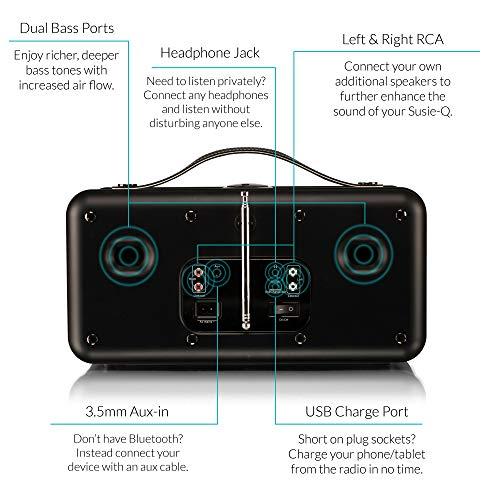 VQ Susie-Q | Smart Radio & HiFi Speaker - Featuring DAB