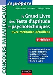 Le grand livre des tests d'aptitude et psychotechniques - 3e ed - avec méthodes détaillées