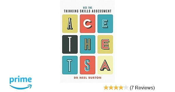 Ace the Thinking Skills Assessment: Amazon co uk: Neel