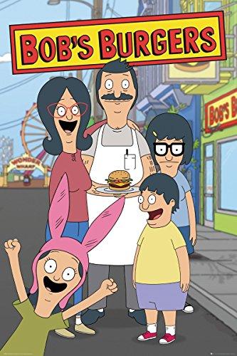 Maxi Poster Bobs Burgers Family 61 x 91,5 cm Laminato