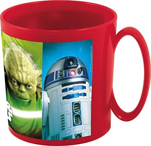 Générique NOVASTYL 8011618 Star Wars Mug Micro-Ondable Plastique/Polypropylène Rouge 11 x 8 x 8 70 cm