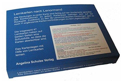 Lernkarten nach Lenormand: 47 Karten mit Deutungen, Kombinationen und Legesysteme