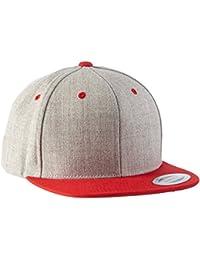 Flexfit Classic Snapback 2-Tone -One Size Cap, Erwachsenen Mütze (Kappe für Herren und Damen) Schirmmütze verstellbar - in diversen Farben