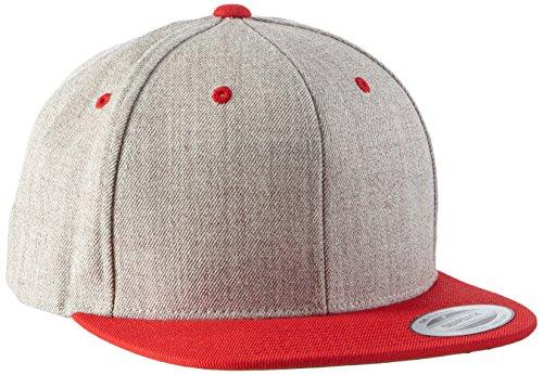 Flexfit Classic Snapback 2-Tone, One Size Cap, Erwachsenen Mütze, (Kappe für Herren und Damen) Schirmmütze verstellbar - in diversen Farben