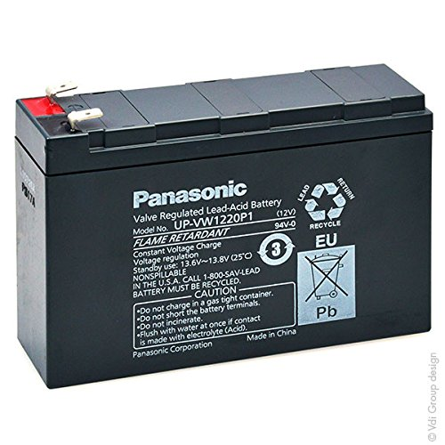 Panasonic - Batterie onduleur (ASI) UP-VW1220P1 FR 12V 4.5Ah F6.35
