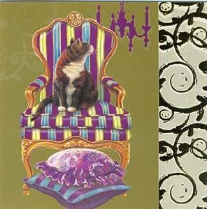 Festliche katzen chrissie snelling luxus weihnachtskarten twin set k che haushalt - Weihnachtskarten amazon ...