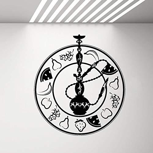 Yaonuli Decoración de Pared de Vinilo de cachimba de Fruta Etiqueta de cachimba Salón Sala de Fumadores...