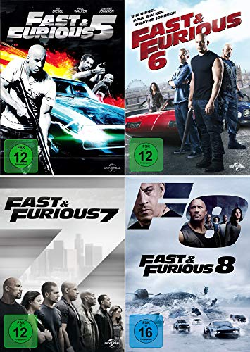 Fast and the Furious 5 - 8 Collection (4-DVD)