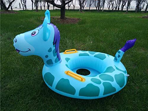 ZYCTSUI Kinder Schwimmring Sommer Wasser Spielzeug Erwachsene Kinder Aufblasbare Schwimmring Strand Schwimmbad Aufblasbarer Sitz Baby Schwimmen Werkzeuge@驴