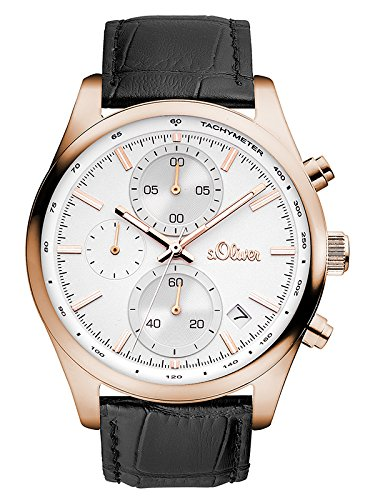 s.Oliver Time Men's Watch SO-3347-LC