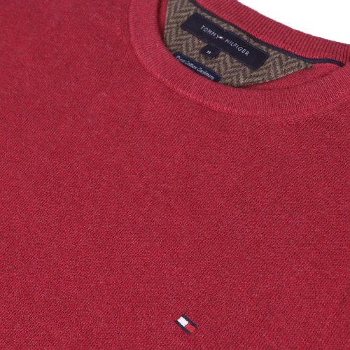 Tommy HilfigerHerren Pullover Rot Rio Red Rot