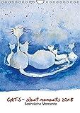CATS - silent moments 2018, besinnliche MomenteAT-Version (Wandkalender 2018 DIN A4 hoch): Katzen, Zeichnungen, Aquarelle (Monatskalender, 14 Seiten ) ... [Kalender] [Apr 08, 2017] Motsch, Sabine - Sabine Motsch