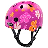 Nutcase Nutty, Casco infantil, Multicolor (Petal Power), XXS (47cm-50cm)