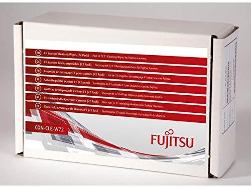 Fujitsu F1 Scanner 72 Reinigungstücher (CON-CLE-W72) für SP-112x, SP-1130, SP-1425, fi-7030, fi-7x40, fi-7x60, fi-7300NX