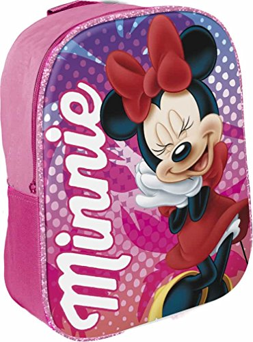 Star Licensing Disney Minnie Zainetto per Bambini, 29 cm, Multicolore