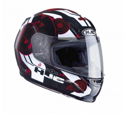 CLYSRS - HJC CL-Y Simitic Youth Motorcycle Helmet S Red (MC1) (Hjc Helm Street Bike)
