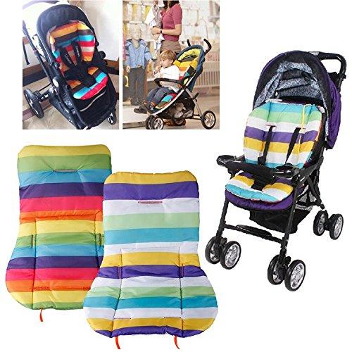 Vicky Store - Cojín impermeable para cochecito de bebé, color al azar