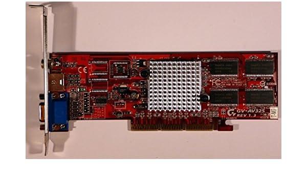 GIGABYTE GV-AV32S 64BIT DRIVER